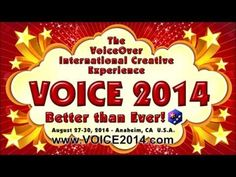 Why VoiceOver International Creative Experience (VOICE)?  Watch this video and find out! #VO #voiceover #VOICE2014