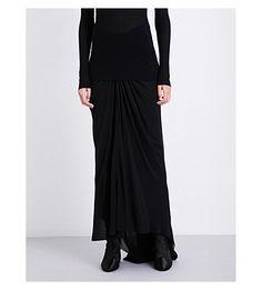 RICK OWENS Mermaid Silk Skirt. #rickowens #cloth #skirts