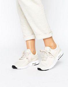 new styles 5c5fa 5ec8f Nike Air Max Zero Trainers In Oatmeal. ChaussureBaskets ...