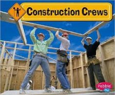Construction Crews by JoAnn Early Macken. Find it under TH 149 Childrens Books, Ocean, Construction, Reading, Tools, Building, Children's Books, Instruments, Children Books