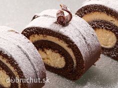 Roulade with Mascarpone & White Chocolate Filling