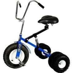 Dirt King Dirt King Big Kid Dually Tricycle, Blue, Steel - http://www.rekomande.com/dirt-king-dirt-king-big-kid-dually-tricycle-blue-steel/