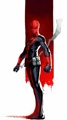 Asssassin Spider-man by Naratani. / Living life one comic book at a time. Marvel Comics, Comics Anime, Marvel Art, Marvel Heroes, All Spiderman, Amazing Spiderman, Spiderman Costume, Marvel Comic Character, Character Art