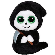 """#41127 GRIMM the Ghoul- Ty Beanie BOO's 6""""- Halloween NEW Stuffed Animal Toy #Ty"""