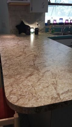 Contact Paper Countertop On Pinterest Countertop Redo Contact Paper Cabinets And Contact Paper