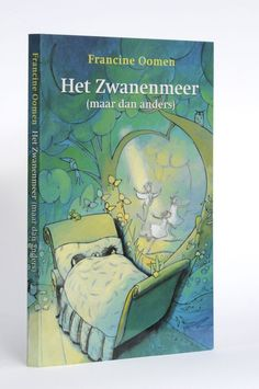 Cover and interior lay-out for 'Het Zwanenmeer. Gift book of CPNB (kinderboekenweekgeschenk 2003) by Francine Oomen