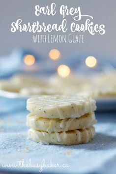I'm excited to be participating in the Great Food Blogger Cookie Swap this year! I received amazing cookies from Korena from Korena in the Kitchen, Elaine from Flavour and Savour, and Kim from The Finer Cookie that we enjoyed very much, and I got to send these Earl Grey Shortbread Cookies with Lemon Glaze to...