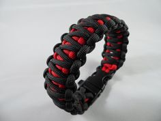 Black and Red King Cobra  from WazE PARACORD! https://www.facebook.com/paracordkarkoto