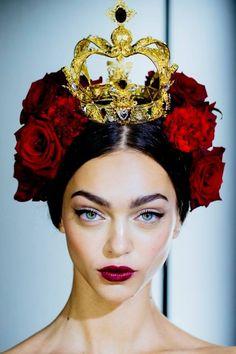 Dolce & Gabbana Spring 2015– Backstage – Fashion Style Magazine