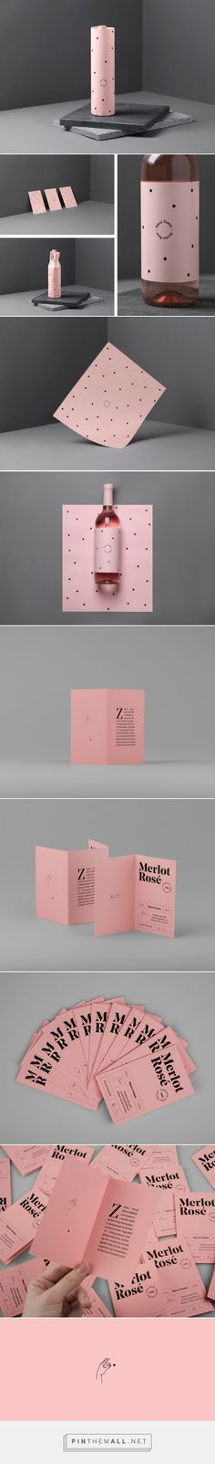 Dúzsi Tamás Merlot Rosé - Packaging of the World - Creative Package Design Gallery - http://www.packagingoftheworld.com/2016/10/duzsi-tamas-merlot-rose.html