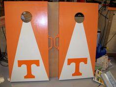 UT cornhole boards!