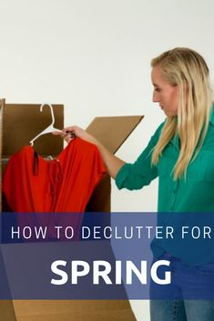 Are you getting organized? Click through to read a few tips on decluttering your home and how storage can help. Storage Solutions, Storage Ideas, Self Storage, Decluttering, Getting Organized, Garage, The Unit, Organization, Tips