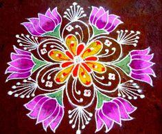 Beautiful Kolam Rangoli Designs