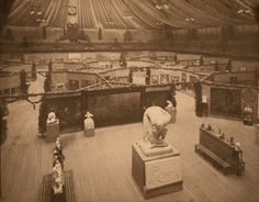 """The 69th Regiment Armory on East 25th Street may have seemed like an odd venue, but it was big enough to hold the 1,400-work exhibition. """"Th..."""