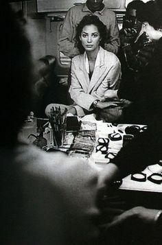 Christy Turlington by Peter Lindbergh (German Marie Claire - November 1994 Peter Lindbergh, Christy Turlington, Foto Fashion, Fashion Models, Original Supermodels, Maybelline, 90s Models, Portraits, Great Photographers