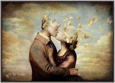 coppia bacio