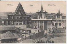 Eden Park Prague in 1922 - Complete with a 5 Kilometer Roller Coaster Eden Park, Roller Coaster, Old Pictures, Czech Republic, Prague, Paris Skyline, Coasters, Art Deco, Things To Come