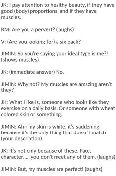 Jungkook talking about ideal type