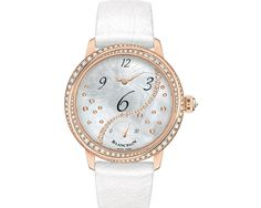 Blancpain Ladies Off Center Hours Retro Seconds Fancy Watches, Watches For Men, Ladies Watches, Gold Diamond Watches, Gold Watches, Women's Watches, Diamond Jewelry, Most Popular Watches, Luxury Jewelry