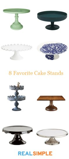 8 of our favorite cake stands