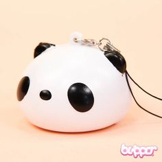 These adorable Panda phone charms are super squishy! With a removable strap, you can attach it to your phone, bag or almost anywhere. So cute!