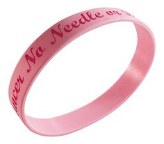 Breast Cancer Bracelet No Needle or B... for only $11.99