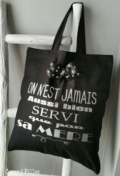 LE TOTE BAG SPECIAL ADO ou MAMAN SODA !  Le cadeau spécial ado, copine etc....  Coloris noir  100 % coton  Format : 38 cm (L) X 42 cm (H)  avec anses de 40 cm  Personnal - 14351333