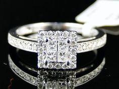 49834 jewelry 14K White Gold Princess Engagement Diamond Ring 0.60 Ct  BUY IT NOW ONLY  $719.99 14K White Gold Princess Engagement Diamond Ring 0.60 Ct...
