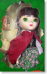 Bendable Wire Fabric Doll Big Eyes Red Riding Hood, 9
