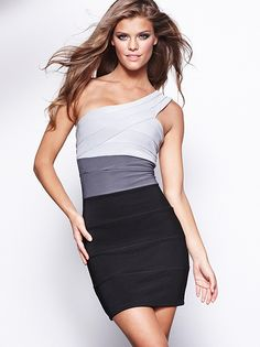 I love this Ombre Bandage Dress from Frederick's of Hollywood!