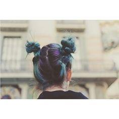 Este ocaso de dos tonos sombreados. | 22 Ideas para teñir tu pelo cuando no puedes elegir solo un color