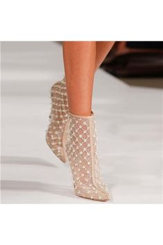Floral Beading Embellished Breathable Lace Ankle Boots Pointed Toe Back Zip Stiletto High Heels Summer Ladies Shoes Botas Mujer Women's Shoes, Cute Shoes, Me Too Shoes, Man Shoes, Prom Shoes, Trendy Shoes, Louboutin Shoes, Casual Shoes, Shoes Sneakers