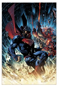 Superman Unchained #6 cover art by jimlee00 on DeviantArt