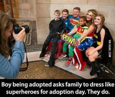 Faith In Humanity Restored - 21 Total Pictures - Death To Boredom Sweet Stories, Cute Stories, Happy Stories, Dc Memes, Funny Memes, Adoption Day, Human Kindness, Touching Stories, Gives Me Hope