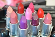 MAC Lipsticks Most Popular Colors Best Sellers CHOOSE YOURS! Brand New in box!  #MAC
