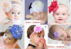 schattige baby peuter meisjes prinses kinderen bloem haarband boog haar accessoires gratis verzending