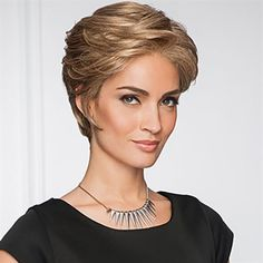 Upscale #Wig by Gabor  Offering generous length in the front and crown