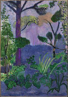 Henri Matisse (1869 - 1954) Paysage marocain (Acanthes), 1912 Moderna Museet, Stockholm