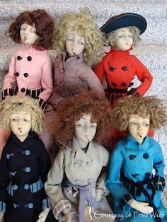 The Girls (Lenci Fadettes) - Frau Wulf's Boudoir Doll Blog