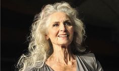 British model Daphne Selfe, 83, hits the catwalk, but many elderly people suffer low self-esteem. I want to be like Daphne ;-)