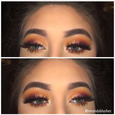 jaclyn hill morphe palette Creamsicle, sissy, hunts, jack, pukey and the gold shade on the modern renascence palette and the eyliner is colourpop