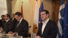 Με την υιοθέτηση της Διακήρυξης της Λευκωσίας οι τρεις ηγέτες της Κύπρου, της Αιγύπτου και της Ελλάδας ολοκλήρωσαν σήμερα τις μεταξύ τους επαφές και συμφώνησαν σε περαιτέρω διεύρυνση και εμβάθυνση των σχέσεων μεταξύ των τριών χωρών σε μια σειρά από τομείς, που περιλαμβάνουν την οικονομία, το εμπόριο, τον τουρισμό και την ενέργεια. Καλωσορίζοντας τον Αιγύπτιο […]