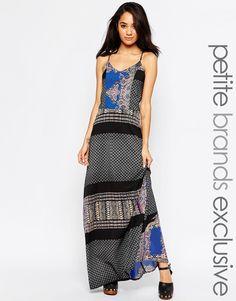 Image 1 - Glamorous Petite - Maxi robe caraco imprimée