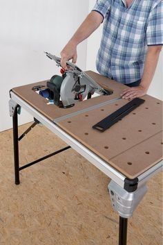 wolfcraft: 1 MASTER cut 2000 - Precision saw table and work station