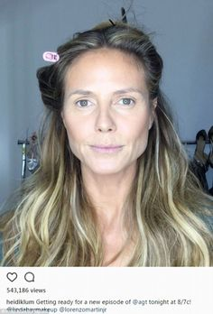 Stars ohne Make-up: Die ungeschminkte Wahrheit Heidi Klum shows courage with this make-up selfie. The 44 years you suddenly see – the GNTM judge can still be seen. Heidi Klum Hair, Sommer Make-up Looks, Soft Summer Makeup, Celebs Without Makeup, Brown Blonde Hair, Hazel Eyes, Mannequins, Fall Hair, Easy Hairstyles