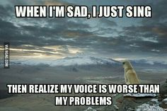 They said sing a song and your problem clear...