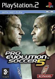 Pro Evolution Soccer 5 Game for the Sony Playstation 2 Buy Now from Fully Retro! Computer Video Games, New Video Games, Retro Video Games, Playstation 2, Playstation Portable, John Terry, Pro Evolution Soccer, Football Is Life, Japanese Games
