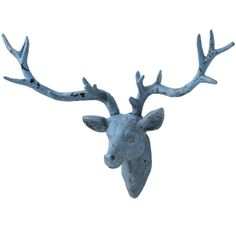 Feeling blue? Oh deer! #decor #homedecor