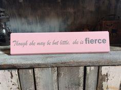 She is fierce by SimplyBluegrass on Etsy https://www.etsy.com/listing/267710697/she-is-fierce