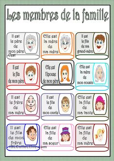 French Language Lessons, French Lessons, French Teaching Resources, Teaching French, Learn Dutch, Learn French, French Practice, French Worksheets, French Online
